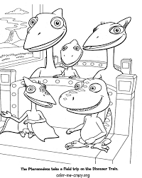 Dinosaur Train Free Coloring Pages