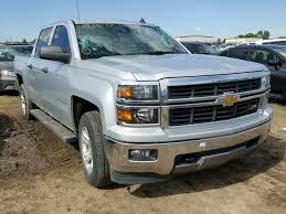 2014 Chevrolet Silverado For Sale At Copart Colorado Springs, CO Lot ...