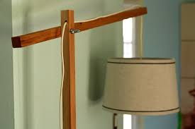 DIY World Market Lookalike Wooden Floor Lamp