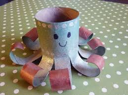 You Will Be Impressed Of What Kind Things Can Make Out Toilet Paper Rolls Cute Octopus