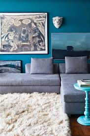 Spectacular Luxury Small Homes by Spectacular Blue Living Room Walls Image Of Modern Luxury Home
