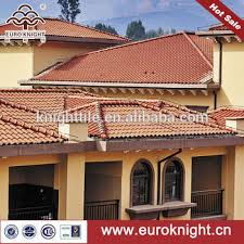 european style waterproof style clay roof tiles cottage