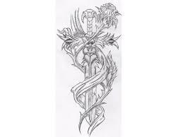 Awesome Tribal Dragon Tattoo Tattoos