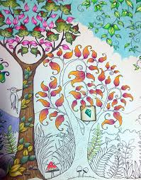 Enchanted Forest Stages In Colouring The Day La Artistino
