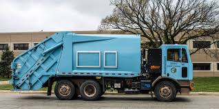 100 Garbage Trucks In Action First AllElectric Truck In North America Developed By