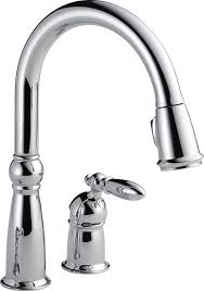 Delta Faucet Cassidy 9197 by Delta 955 Dst Victorian Single Handle Pull Down Kitchen Faucet