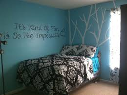 Black And Teal Bedroom Decorating Ideas White