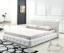 Roma Tufted Wingback Headboard by White Tufted Headboard Queen 51 Inspiring Style For
