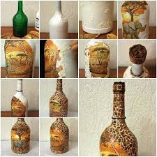 Diy Crafts For Home Painted Vase Craft Ideas Easy Idea