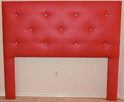 Black Leather Headboard With Diamonds by Bedroom Classy White Tufted Headboard To Match Your Personal