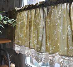 captivating swag curtains for kitchen and sliding door curtain
