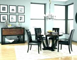 Showy What Size Rug For Dining Room Table Under
