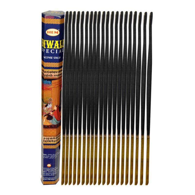 Diwali Special, Hem Incense 20 Stick Single Tube, Imported from India