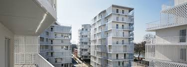 100 Residential Architecture Magazine Unity In Diversity Rue Camille Claudel Project