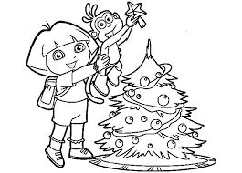 Dora Coloring Pages Free Games Wonderful The Explorer