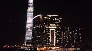 100 Hong Kong Skyscraper Amazing Building Light Show