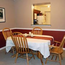 Dining Room With Chair Rail Peenmediacom