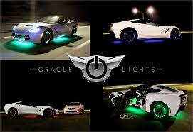 LED Wheel Light Rings Set of 4 LED Car Rim Lights by Oracle