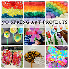 50 Spring Art Projects For Kids