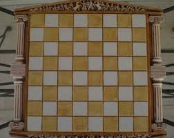 For Sale Ancient Greek Theme Chess Board