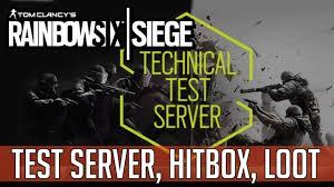siege test medcast technical test server hitbox änderungen loot rainbow