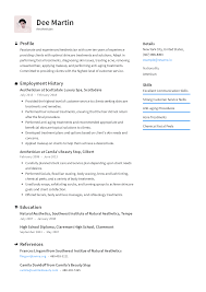 Aesthetician Resume Templates 2019 (Free Download) · Resume.io Esthetician Resume Sample Inspirational 95 Template Jribescom Examples Of Rumes Free Business Plan Paramythia Cover Letter Example Luxury Best 33 Elegant Professional Atclgrain Aweso Pin By Lattresume On Latest Resume 13 Fresh Ideas Barber Khonaksazan Com Objectives