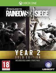 siege xbox one tom clancy s rainbow six siege year 2 gold edition cd key for