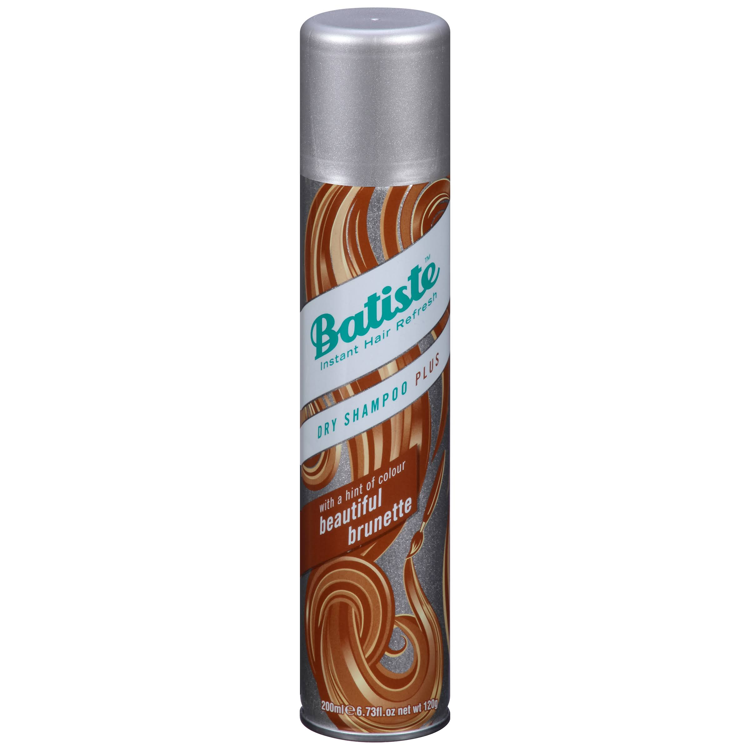Batiste Dry Shampoo & a Hint of Colour for Brunettes - 200ml