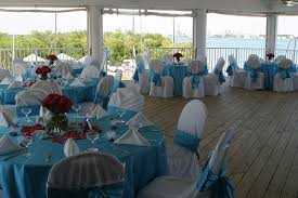Wedding Reception On The Beautiful Open Air Waterfront Deck At Clearwater Community Sailing Center