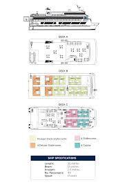 Island Princess Baja Deck Plan by Coral Expeditions Ii Small Ship Review