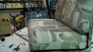 Rv Jackknife Sofa Cover by Gmc Rv Upholstery Part V Youtube