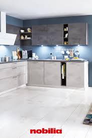 wohnküche in moderner betonoptik moderne küche küchen