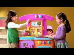 Dora The Explorer Fiesta Kitchen Set by Fisher Price Dora Fiesta Favorites Kitchen Youtube