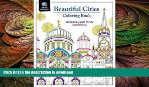 GET PDF Adult Coloring Book Rand McNally Beautiful Cities
