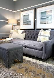 Restoration Hardware Sleeper Sofa by Nagwa Seif Interior Design Sleeper Sofa