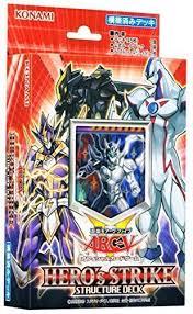 amazon com yu gi oh arc five structure deck hero s strike japan