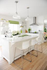 ikea bar stools kitchen transitional with bright kitchen island