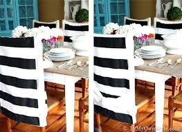 No Sew Chair Back Covers In My Own Style Dining Room Slipcovers Seat Only Target