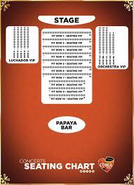 seating chart conga room