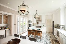 Patterned Kitchen Floors With Interior Designers In New Orleans