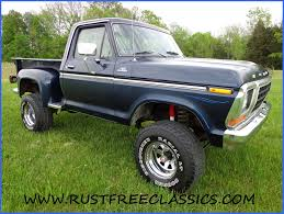 100 1978 Ford Truck For Sale 78 F150 4x4 Short Bed Step Side Ranger Blue