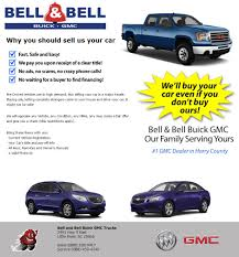 Bell And Bell Buick GMC Trucks Is A Little River Buick, GMC Dealer ... Selling Scrap Trucks To Cash For Cars Vic Diesel Portland We Buy Sell Buy And Sell Trucks Junk Mail 10x 4 Also Vans 4x4 Signs With Your The New Actros Mercedesbenz Why From Colorados Truck Headquarters Ram Denver Webuyfueltrucks Suvs We Keep Longest After Buying Them Have Mobile Phones Changed The Way Used Commercial Used Military Suv Everycarjp Blog