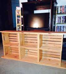 Tv Stands Made Out Of Crates