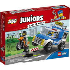 LEGO Juniors Police Truck Chase (10735) - Toys