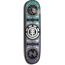 element nyjah shuffle skateboard deck evo