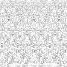 Doctor Who The Colouring Book Free Pattern Downloads