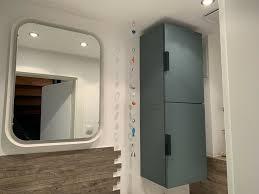ikea godmorgon badezimmer waschbecken grau türkis in