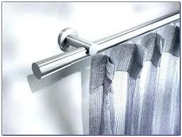 Modern Curtain Rods Lavish Home Sphere Finial Adjustable Modern