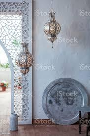 selektive fokuspunkt auf marokko licht laterne dekoration im wohnzimmer interieur vintagelichtfilter stockfoto und mehr bilder afrika