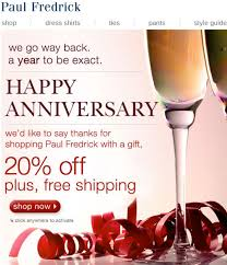 Paul Fredrick | Anniversary Emails | Alcoholic Drinks, Wine Glass, Glass Paul Frederick Promo Code Recent Discounts Fredrick Menstyle Coupon By Gary Boben Issuu Deluxe Coupon 20 Off Business Checks Code Ezyspot Free Shipping Charleston Coupons White Shirts Last Minute Disney Cruise Deals Fredrick Shirts Rldm Smart Style 2018 Paytm Recharge Reddit Dress Shirt Promo Toffee Art 51 Off Codes For August 2019